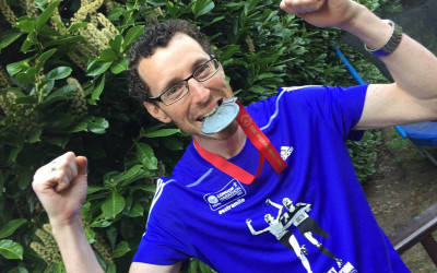 Gershon's London Marathon run raises £6,500