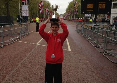David Stone raises £3,000 for DRF running London and Jerusalem Marathons