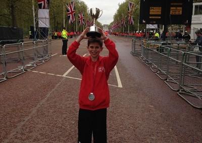 David Stone raises £3,000 for DRF running London and Jerusalem Marathons