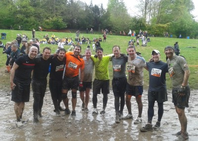 Tough Mudders raise £9,000 for DRF