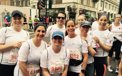 Running Club triumph in 10km Vitality run