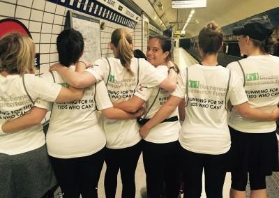 Running Club raise £15,000 for DRF running the Vitality 10k