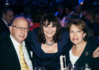 Aaron Katz, Avril Fleishman and Margot Katz