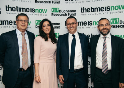 DRF Trustees Simon Kanter, Dr Sarah Shelley, Daniel Baum and Jeremy Shebson