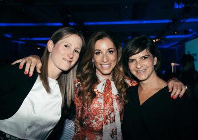 Deborah Taub, Kerry Rosenfeld and Victoria Portnoi