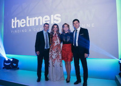 Founders Doron & Kerry with Dinner Co-chairs Dalia & James Young