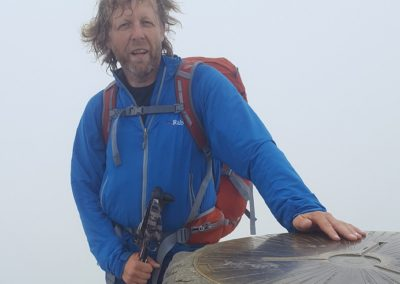 Malcolm Herbert raises £1,200 walking the Cambrian Way for DRF