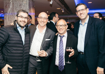 Michael Shebson, Neil Taub, Jeremy Braude and Maurice Golker
