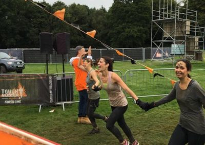 Naomi Desau raises £750 doing Tough Mudder for DRF