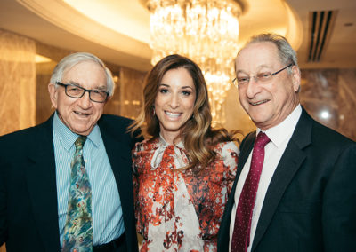 Prof Victor Dubowitz, Kerry and Martin Fleishman