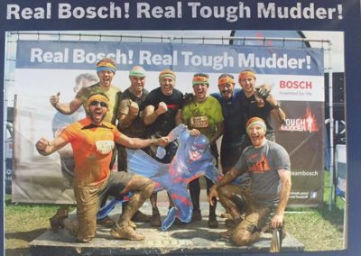 Rich Taylor raises more than £2,000 with another Tough Mudder