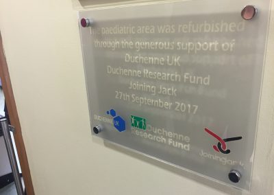 The expansion was funded by Duchenne Research Fund, Duchenne UK and Joining Jack