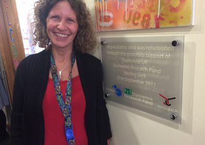 Dr Michela Guglieri oversees Duchenne clinical trials in Newcastle