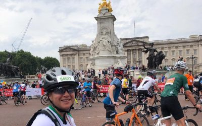 Cyclists take on Prudential ride to raise funds for DRF