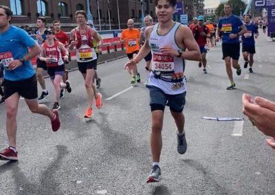 #TeamDRF at the 2021 London Marathon